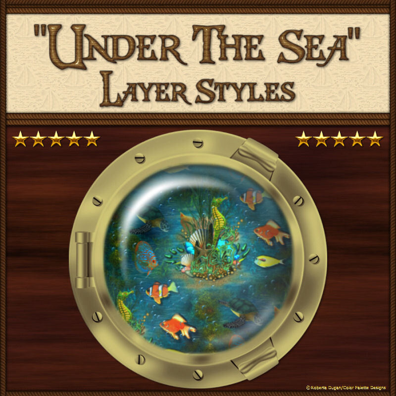 Under the Sea Layer Styles