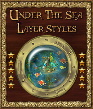Under the Sea Layer Styles 3D Models 2D fractalartist01