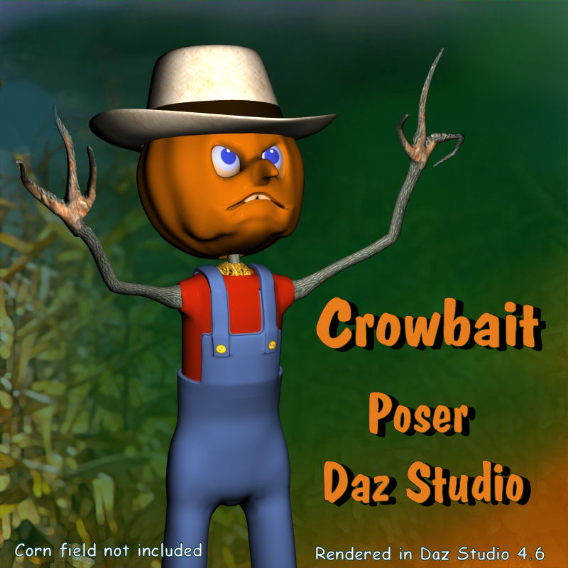 Crowbait Scarecrow