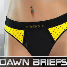 Dawn Briefs 3D Figure Assets lilflame