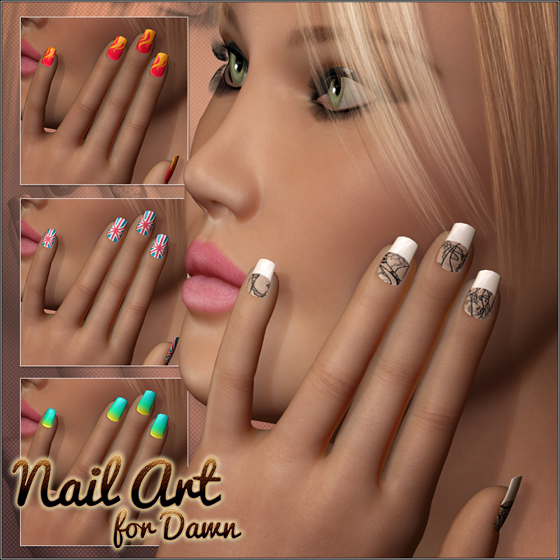 Nail Art for Dawn