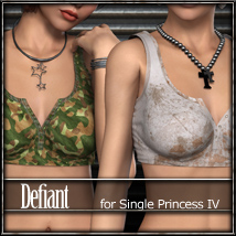 Defiant for Single Princess IV 3D Figure Essentials FrozenStar