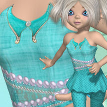 DA-LittleDarling for Amity PixiPatch 3D Figure Essentials DarkAngelGrafics