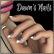 NYC Dawn's Nails 2D 3D Figure Essentials Merchant Resources 3DSublimeProductions