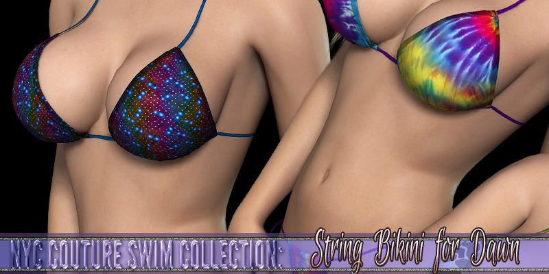 NYC Couture: Dawn's String Bikini