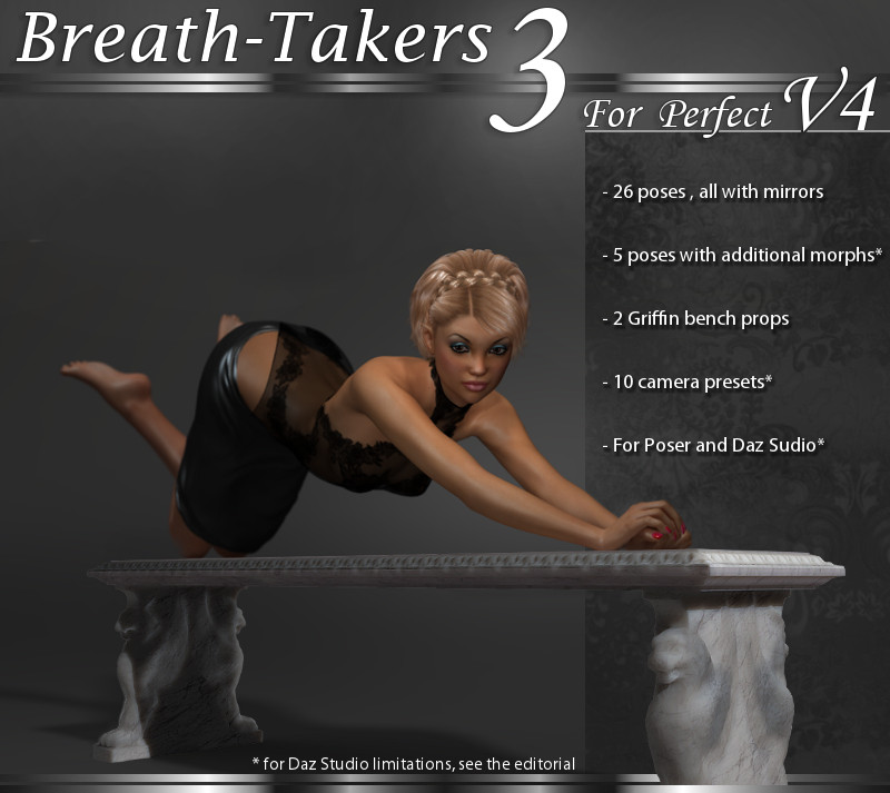 BreathTakers 3 Poses