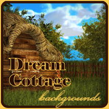 Dream Cottage Themed 2D And/Or Merchant Resources mist43