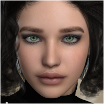 Bella for V4 and Genesis 3D Figure Essentials 3D Models OziChick