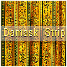 OB Damask strips-Texture and Overlay 2D And/Or Merchant Resources olbor