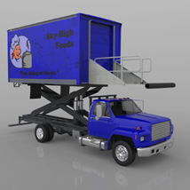 Airport Supply Truck  for Poser  image 1