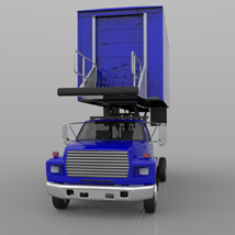 Airport Supply Truck  for Poser  image 2