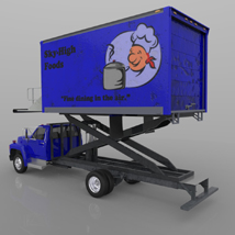 Airport Supply Truck  for Poser  image 4