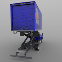 Airport Supply Truck  for Poser  image 5