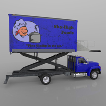 Airport Supply Truck  for Poser  image 6