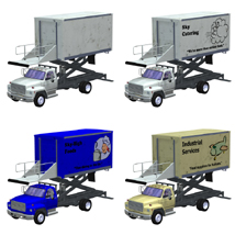 Airport Supply Truck  for Poser  image 8