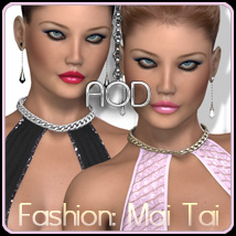 Fashion: Mai Tai 3D Figure Essentials ArtOfDreams