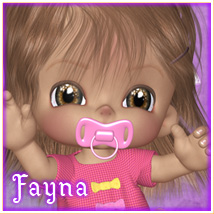 Fayna Characters Themed Stand Alone Figures Marianne_Designs