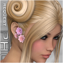 PHC : Cinnamon Buns Themed Hair P3D-Art