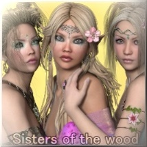 AM: SSS- Sisters of the Wood- V4/A4 Characters Angelmoon
