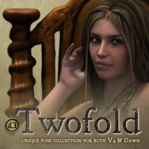 i13 TWOFOLD - Dawn + V4 Poses Props/Scenes/Architecture Poses/Expressions Themed ironman13