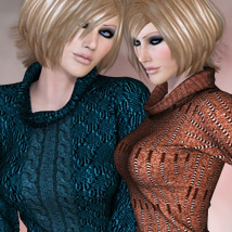 Dynamic Collection - Cozy Sweater Dawn/V4 Clothing Themed kaleya