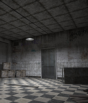 Abandoned Warehouse Software Themed Props/Scenes/Architecture RPublishing