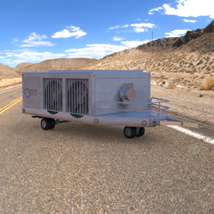 Aircraft Air Conditioning Unit Truck (Poser) 3D Models Digimation_ModelBank