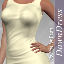 DawnDress 3D Figure Assets halcyone
