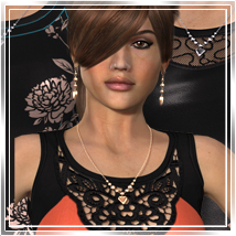 Vogue for DawnDress Themed Clothing Romantic-3D