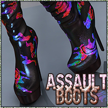 NYC Collection: Assault Footwear 3DSublimeProductions