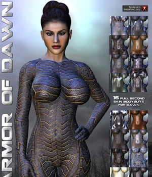 Armor of Dawn 3D Figure Assets 3D Models Darkworld