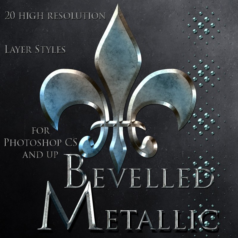 Bevelled Metallic