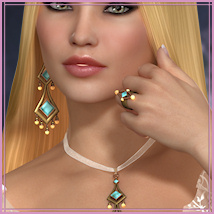 Dazzle for Cathya Jewels 3D Figure Essentials 3D Models -Wolfie-