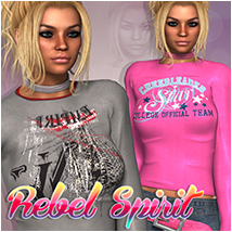 Rebel Spirit  Clothing Atenais