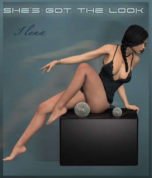 She's Got The Look 3D Figure Assets 3D Models ilona