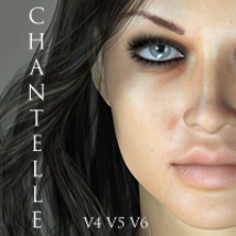 Chantelle for V4, V5 & V6 3D Figure Essentials adamthwaites