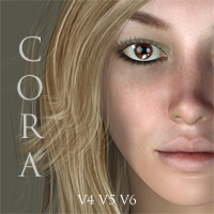 Cora for V4, V5 & V6 3D Figure Essentials adamthwaites