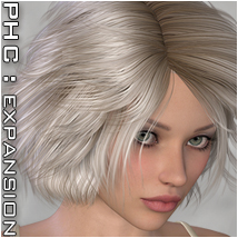 PHC : Laval Themed Hair P3D-Art