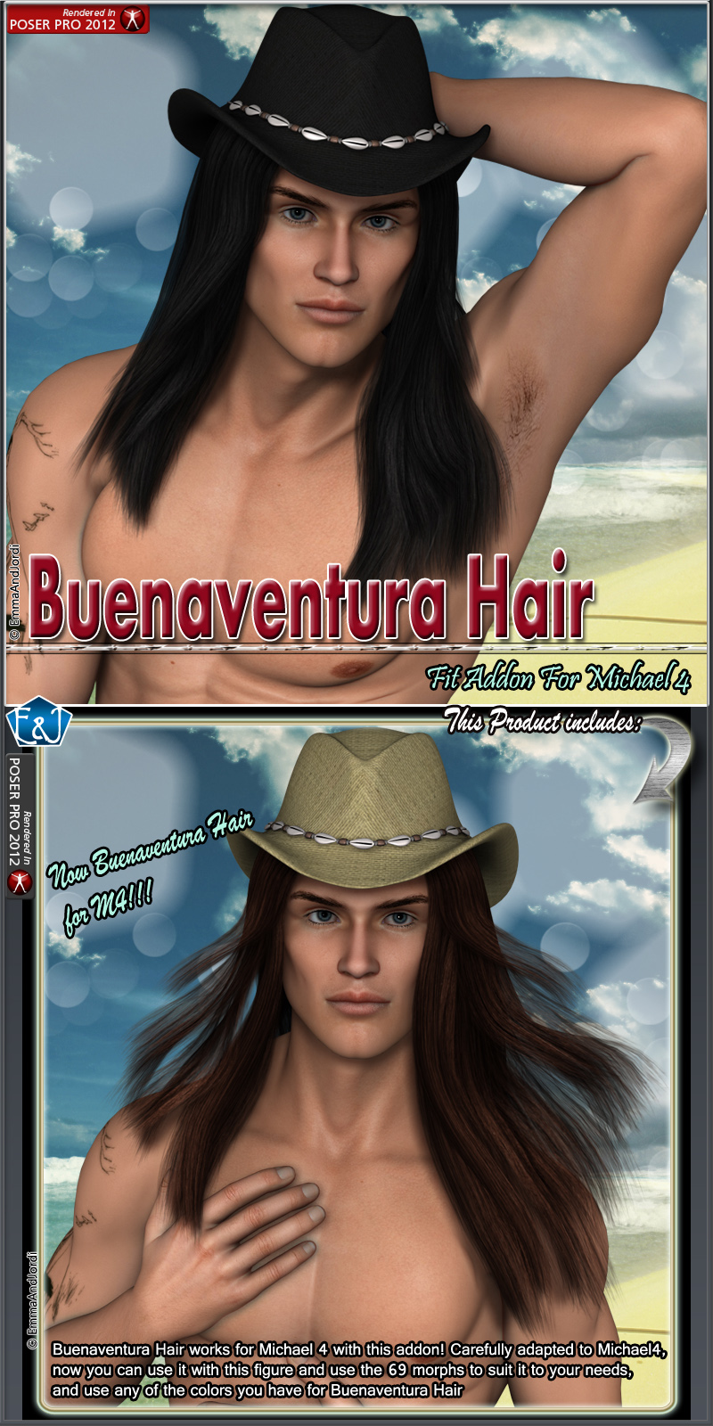 M4 Fit Addon For Buenaventura Hair