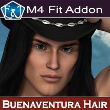 M4 Fit Addon For Buenaventura Hair Hair Themed Software EmmaAndJordi