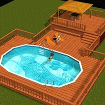 AB Pool Set Props/Scenes/Architecture Themed Richabri