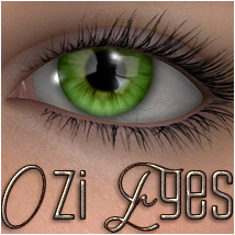 Ozi Eyes MR 2D Graphics 3D Models OziChick