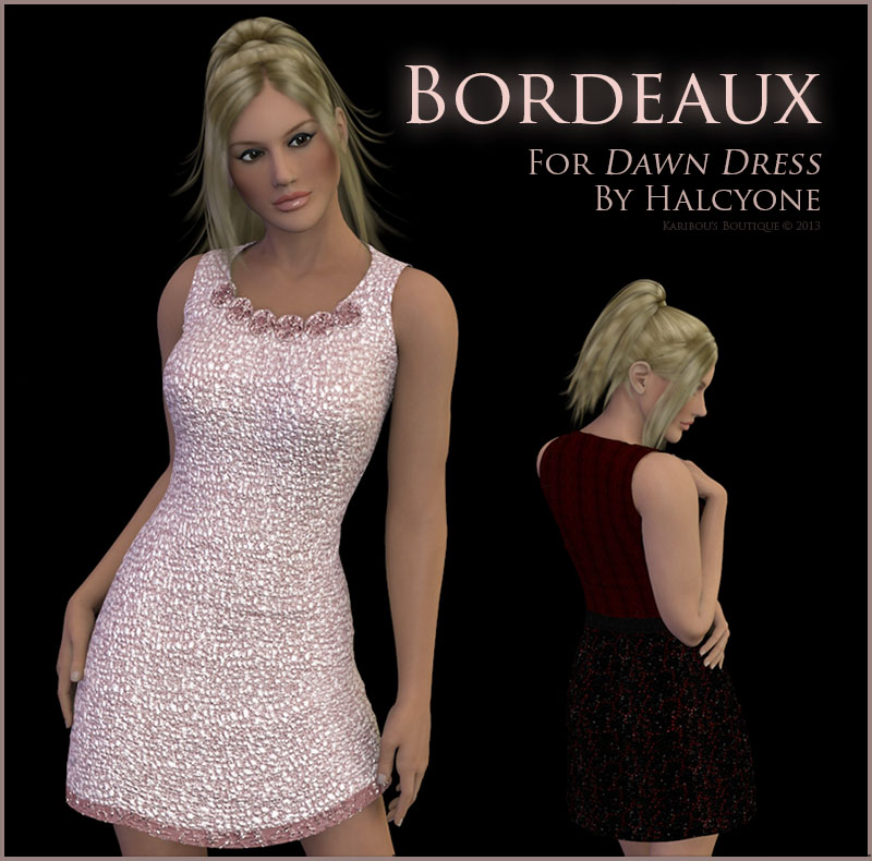 KB-Bordeaux for Dawn Dress