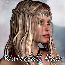 Waterfall Braid Hair V4 & Dawn Themed Hair RPublishing