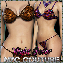 NYC Couture: Night Fever for Dawn 3D Figure Assets 3DSublimeProductions