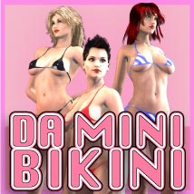 DA Mini Bikini 3D Figure Essentials Razor42