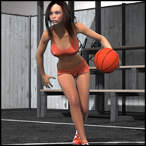 WM Streetball - poses for V4 3D Figure Essentials santuziy78