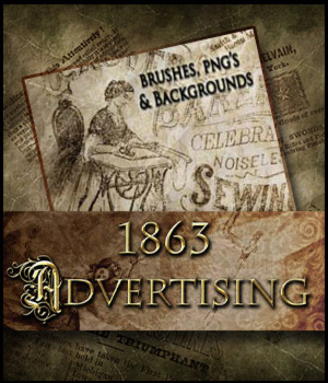 1863 Advertising 2D Graphics antje