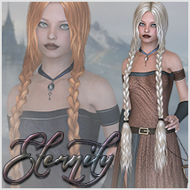 Eternity for Lost in Time 3D Figure Assets Sveva