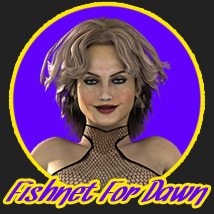Fishnet For Dawn 3D Figure Assets powerage